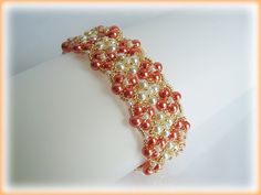 Carpet with Flower bracelet beading tutorial STEP BY STEP by AsszaJewelrymania, $10.00 This listing is for the Pdf tutorial only. The finished product is not included, there are no supplies included.