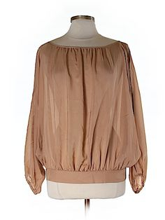 Marc by Marc Jacobs Women 3/4 Sleeve Silk Top Size XS