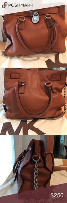 Michael Kors Bag Michael Kors Hamilton Lock Large bag. Minimally used, no scuffs or scratches. KORS Michael Kors Bags Totes