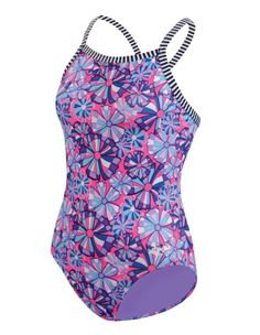 Dolfin Uglies Girls Light Twiggy V-2 Back Swimsuit available at Dick's Sporting Goods