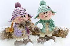 Een link naar het haakpatroon van de poppen Nora en Sven. Nora en Sven zijn twee poppen met winterkleding aan. Lees meer over het patroon op haakinformatie.