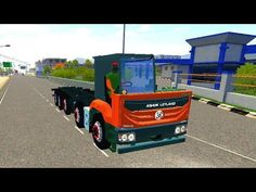 Ashok Leyland chassis truck driving in Bus simulator Indonesia - Android Gameplay 2021 #1 - YouTube