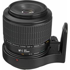 Canon MP-E 65mm f/2.8 1-5x Macro Photo A unique manual-focus lens designed exclusively for macro shooting, between life-size (1x) and 5x life-size – at its maximum magnification, you can fill a 35mm f
