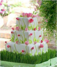 Spring wedding cake?
