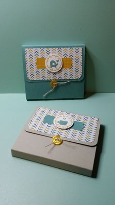 Make a cute little post it note holder. Great for a stocking stuffer or teacher gift...or a just because gift!