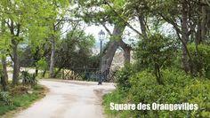 Escalade Colline Saint-Eutrope, #Orange, elisaorigami.blogspot.com