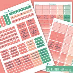 FREE download printable planner stickers
