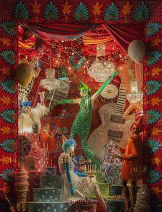 Bergdorf Goodman New York Christmas Windows 2015