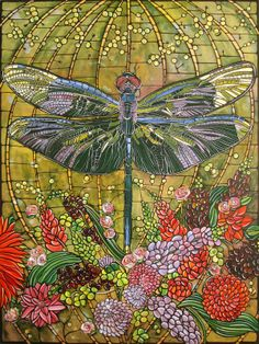 Painting of a Dragonfly