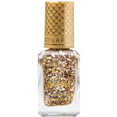 Barry M Aquarium Nail Polish (20 SAR) ❤ liked on Polyvore featuring beauty products, nail care, nail polish, beauty, makeup, nail, treasure chest, barry m, glitter nail polish and metallic nail polish