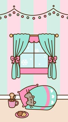 Ideas Cats Wallpaper Iphone Pusheen For 2019 Wallpaper Tumblr Lockscreen, Cats Wallpaper, Winter Wallpaper, Kawaii Wallpaper, Wallpaper Iphone Cute, Christmas Wallpaper, Wallpaper Wallpapers, Wallpaper Samsung, Wallpapers Android