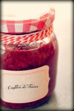 Confiture de fraises au Cuisio Pro