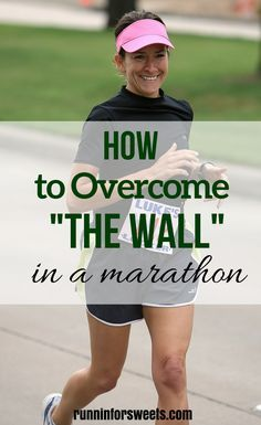 Facing the wall when running a marathon is almost inevitable. Here are 10 strategies I use to overcome the wall and conquer its challenges | Running for Beginners | Marathon Training | Running Tips