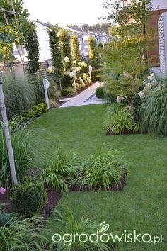 Lawendowy zawrót głowy - strona 1839 - Forum ogrodnicze - Ogrodowisko Modern Landscaping, Landscaping Plants, Outdoor Landscaping, Backyard Patio, Garden Art, Garden Design, Creative Landscape, Garden Entrance, Outdoor Garden Decor