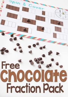 Chocolate Fractions Pack - Life Over Cs