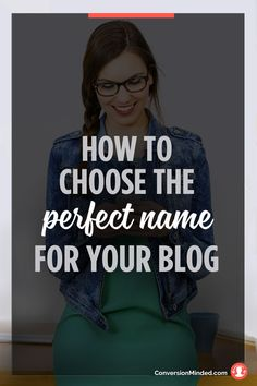 How to Find the Perfect Name for Your Blog or Business   If you're stumped with what to name your blog or business, this post is for you! It includes 7 easy steps to help you choose a name you'll love for years to come. Click through to see the steps!