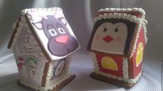 Купить Новогодние подарки В НАЛИЧИИ - комбинированный, новогодний подарок, пряничный домик, дед мороз