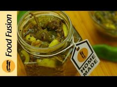 Home made instant green Chili and Garlic pickle recipe that you will want to always keep handy. Green chili and garlic pickle Recipe in En. Pickled Garlic, Nigella Seeds, Garlic Paste, Fusion Food, Fennel Seeds, Spice Mixes, My Recipes, Pickles, Cucumber
