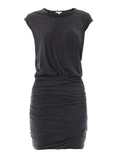 T-Shirt dress by James Perse. This would be great for layering. So comfortable and great with sandals or heels.