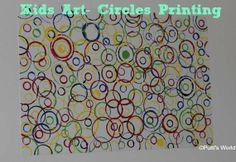 Image detail for -Circle Printing For Kids