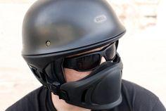 """Bell's """"Rogue"""" New Open Face Helmet."""