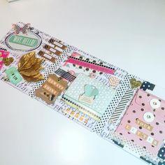 Pinky, peachy, mint, gold snail mail flipbook. #snailmailflipbook #snailmail #creativemail #flipbook #penpal #snailmailideas #happymail