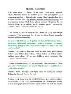 MÜJDELİ HABERLER - Download as PDF File (.pdf), Text File (.txt) or read online.