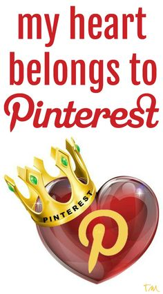 my heart belongs to Pinterest  ♥ Tam ♥