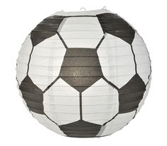 Soccer Ball / Futbol Paper Lantern Shaped Sports Hanging Decoration On Sale Now! We offer vintage and unique Wedding Decorations, party supplies, decor, and lighting supplies in Bulk at Wholesale Prices. Soccer Banquet, Soccer Party, Sports Party, Soccer Ball, Soccer Theme, Soccer Birthday, Led Party Lights, Japanese Paper Lanterns, Paper Lantern Store