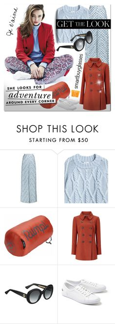 """""""Smartbuyglasses.co.uk"""" by bellamonica ❤ liked on Polyvore featuring Peter Pilotto, H&M, Title Nine, Windsmoor, Gucci, Kate Spade, Lacoste and smartbuyglasses"""