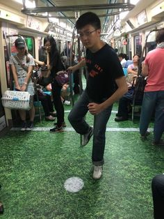Taiwan Surprises Passengers By Turning Subway Cars Into Different Sport Venues For Upcoming Universiade