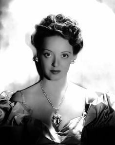 Bette Davis by George Hurrell, 1939.