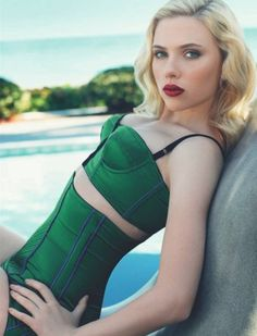 scarjo being perfect