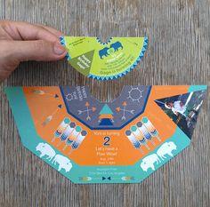I'm in a Teepee card  Custom PDF Printable Teepee by atomicbuffalo, $15.00