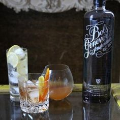 3 COCKTAILS WITH GENEVER, THE GRANDDADDY OF GIN
