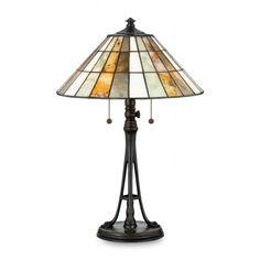 Jade Portable Garrett Table Lamp in Valiant Bronze