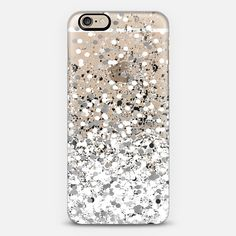 white confetti celebration - Classic Snap Case