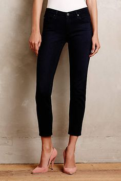 AG Stevie Ankle Jeans in petite sizes. Available at Anthropologie.