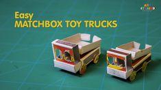 How to Make Easy Matchbox Toy Trucks