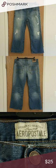 Men AEROPOSTALE jeans 👌 100% cotton Aeropostale Jeans Bootcut