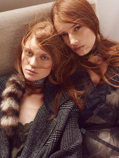 Giane Alves & Cibele Ramm for L'Officiel Brazil April 2016 - Page 2 | The Fashionography