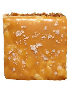 Rice Crispies all grown up! ♥  Caramel 1 (14-oz) bag caramels (about 50), unwrapped 1 (14-oz) can sweetened condensed milk ¼ cup unsalted butter  Squares ¼ cup unsalted butter 1 (10½-oz) bag miniature marshmallows 1½ tsp vanilla extract 3 tsp sea salt flakes (such as Maldon) 8 cups toasted-rice cereal  Caramel: Stir ingredients in a medium saucepan over medium-low heat until melted and smooth. Remove from heat.  Squares: 1. Line a 13x9-inch baking pan with nonstick foil, ...