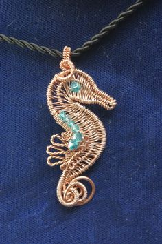 Wow! Fantastic wire seahorse