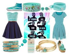 """""""O2l"""" by puppy-love-68 on Polyvore featuring Tenki, Accessorize, Casetify, Feather & Stone, Dee Berkley, Bling Jewelry and Vans"""