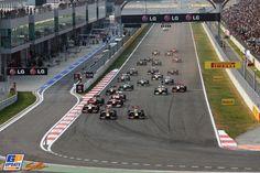 Start - 2012 South Korean Formula 1 Grand Prix, Formula 1