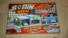 Sonix City Gas Station Expansion Add On One Vehicle New 2012 FREE SHIPPING