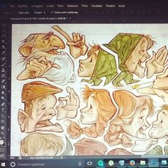 Working for academy review #sneakpeek #NemoAcademy #illustration #NormanRockwell #photoshop #fairytails #chiaralamieri