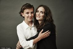 On the list:Not only did it land three nominations, but two of its stars were recognized. Both Millie Bobby Brown, 12, (LEFT) and Winona Ryder,45, (RIGHT) were given best actor nods