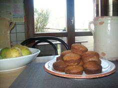 Ricette Gruppo Sanguigno: Muffin di saraceno noci pere