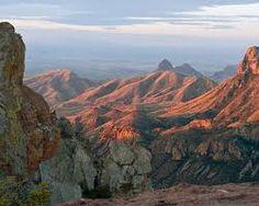 Big Bend National Park TX.   Fort Davis, Marfa and Alpine TX